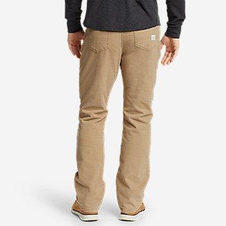Thumbnail View 2 - Men's Fleece-Lined Flex Mountain Jeans