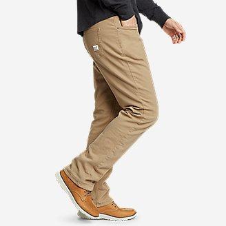 Thumbnail View 3 - Men's Fleece-Lined Flex Mountain Jeans