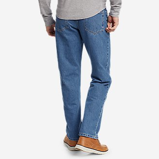 Thumbnail View 2 - Men's Essential Jeans - Relaxed