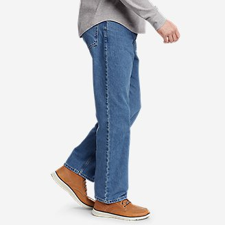 Thumbnail View 3 - Men's Essential Jeans - Relaxed