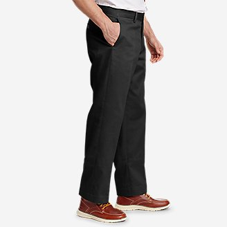 Thumbnail View 3 - Men's Performance Chinos - Flat Front
