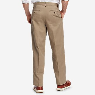 Thumbnail View 2 - Men's Performance Chinos - Flat Front