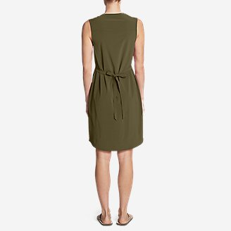 Thumbnail View 2 - Women's Escapelite Sleeveless Split-Neck Dress