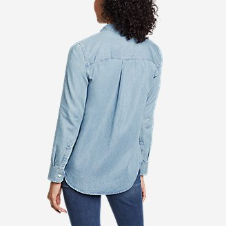 Thumbnail View 2 - Women's Halcyon Safari Long-Sleeve Shirt - Inidgo
