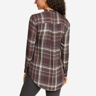 Thumbnail View 2 - Women's Halcyon Long-Sleeve Y-Neck Shirt