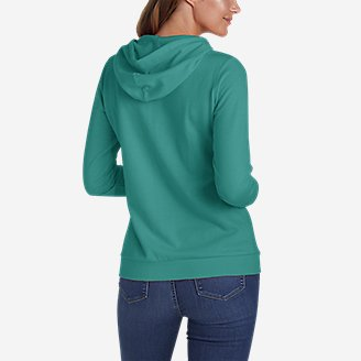 Thumbnail View 2 - Women's Camp Fleece Full-Zip Hoodie