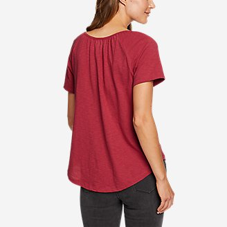 Thumbnail View 2 - Women's Mountain Meadow Embroidered Short-Sleeve T-Shirt