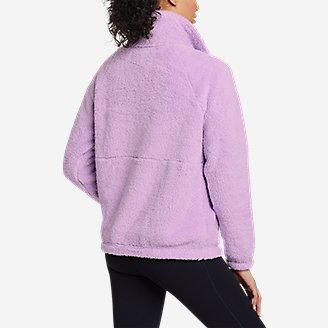 Thumbnail View 2 - Women's Fast Fleece Plush Anorak