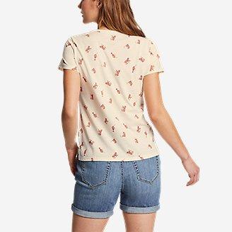Thumbnail View 2 - Women's Coast and Climb Short-Sleeve V-Neck T-Shirt - Print