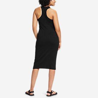 Thumbnail View 2 - Women's Coast and Climb Rib-Knit Sleeveless Dress - Solid