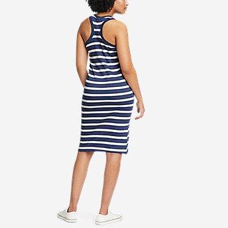 Thumbnail View 2 - Women's Coast and Climb Rib-Knit Sleeveless Dress - Stripe