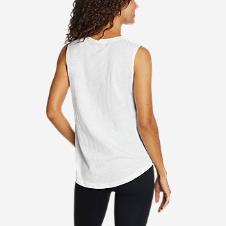 Thumbnail View 2 - Women's Tryout 2.0 Ruched Muscle Tank Top