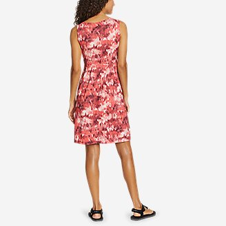 Thumbnail View 2 - Women's Sleeveless Crossover Dress