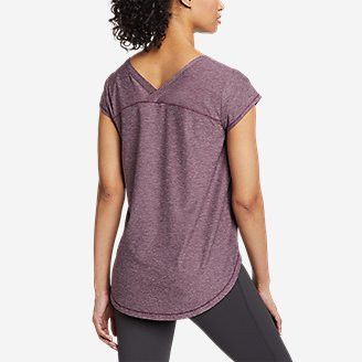 Thumbnail View 2 - Women's Inertia Cross-Back T-Shirt