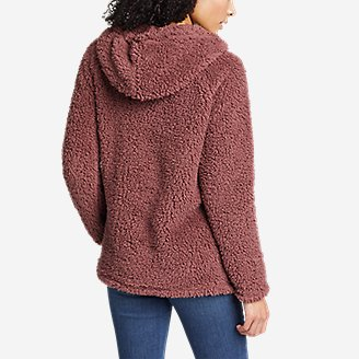 Thumbnail View 2 - Women's Campfire Plush Easy Pullover Hoodie