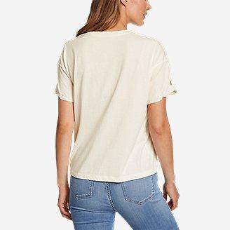 Thumbnail View 2 - Women's Coast and Cllimb Short-Sleeve Lace T-Shirt
