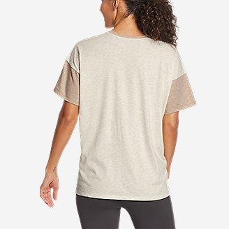 Thumbnail View 2 - Women's Coast and Climb T-Shirt - Color Block
