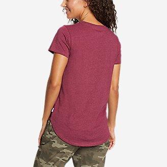 Thumbnail View 2 - Women's Coast and Climb Short-Sleeve Ringer T-Shirt