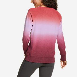 Thumbnail View 2 - Women's Legend Wash Sweatshirt - Dip Dye