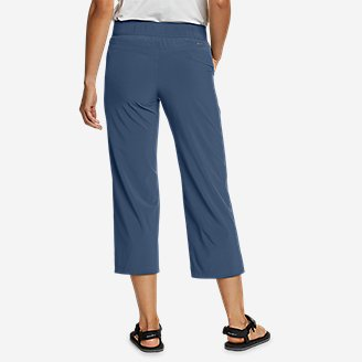 Thumbnail View 2 - Women's Escapelite Wide-Leg Capris
