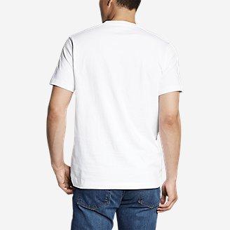 Thumbnail View 2 - Men's Eddie's Short-Sleeve V-Neck T-Shirt