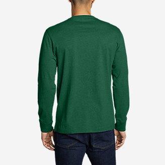 Thumbnail View 2 - Men's Eddie's Long-Sleeve T-Shirt