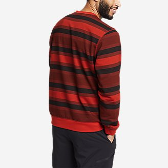 Thumbnail View 2 - Men's Everyday Fleece Printed Crewneck Sweatshirt