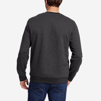 Thumbnail View 2 - Men's Everyday Fleece Sherpa-Lined Henley