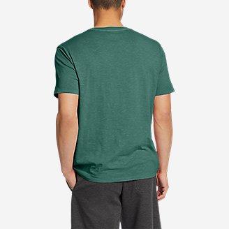Thumbnail View 2 - Men's Riverwash Short-Sleeve Slub Crew T-Shirt