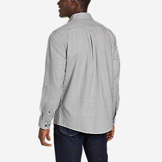 Thumbnail View 2 - Men's Excavation Flannel Shirt - Solid