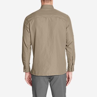 Thumbnail View 2 - Men's Ripstop Guide Long-Sleeve Shirt
