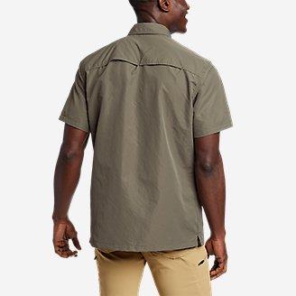 Thumbnail View 2 - Men's Ripstop Guide Short-Sleeve Shirt