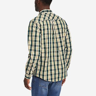 Thumbnail View 2 - Men's Outdoor Poplin Shirt
