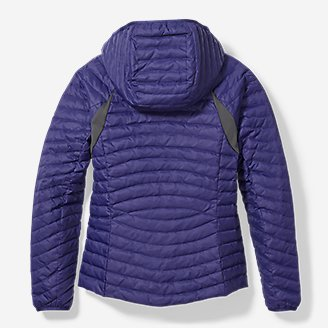 Thumbnail View 2 - Girls' MicroTherm® Hooded Jacket