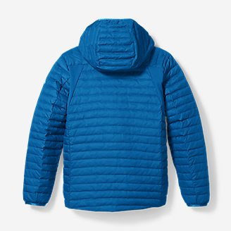 Thumbnail View 2 - Boys' MicroTherm® Hooded Jacket