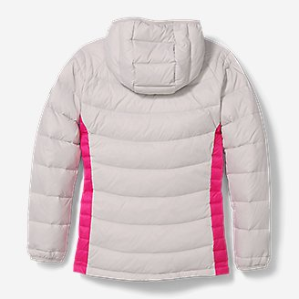 Thumbnail View 2 - Girls' Downlight® Hooded Jacket