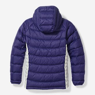 Thumbnail View 2 - Girls' Downlight® Hooded Jacket
