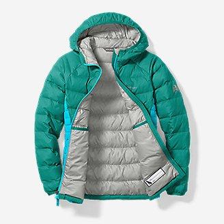 Thumbnail View 3 - Girls' Downlight® Hooded Jacket