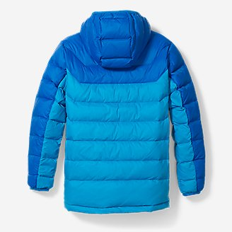 Thumbnail View 2 - Boys' Downlight® Hooded Jacket