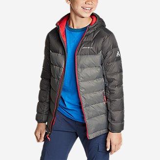 Thumbnail View 3 - Boys' Downlight® Hooded Jacket