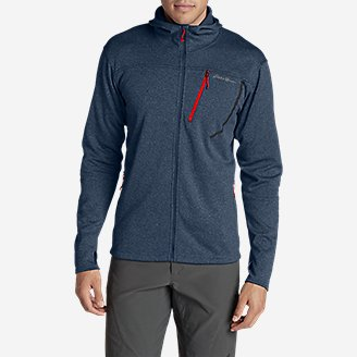 Thumbnail View 3 - Men's High Route Fleece Hoodie