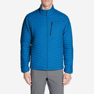 Thumbnail View 3 - Men's MicroTherm® Stretch Down Jacket