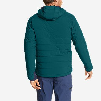 Thumbnail View 3 - Men's IgniteLite Stretch Reversible Hooded Jacket