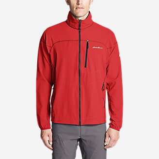 Thumbnail View 3 - Men's Sandstone Soft Shell Jacket