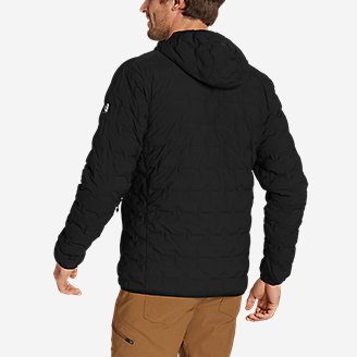 Thumbnail View 3 - Men's MicroTherm® FreeFuse™ Stretch Down Hooded Jacket