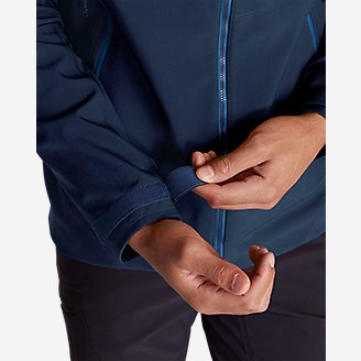 Thumbnail View 3 - Men's Sandstone Shield Hooded Jacket