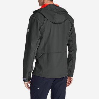 Thumbnail View 2 - Men's Sandstone Shield Hooded Jacket