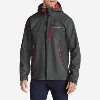 Thumbnail View 3 - Men's Sandstone Shield Hooded Jacket