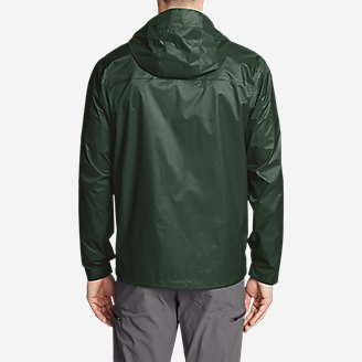 Thumbnail View 2 - Men's Cloud Cap Lightweight Rain Jacket