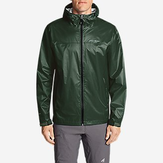Thumbnail View 3 - Men's Cloud Cap Lightweight Rain Jacket